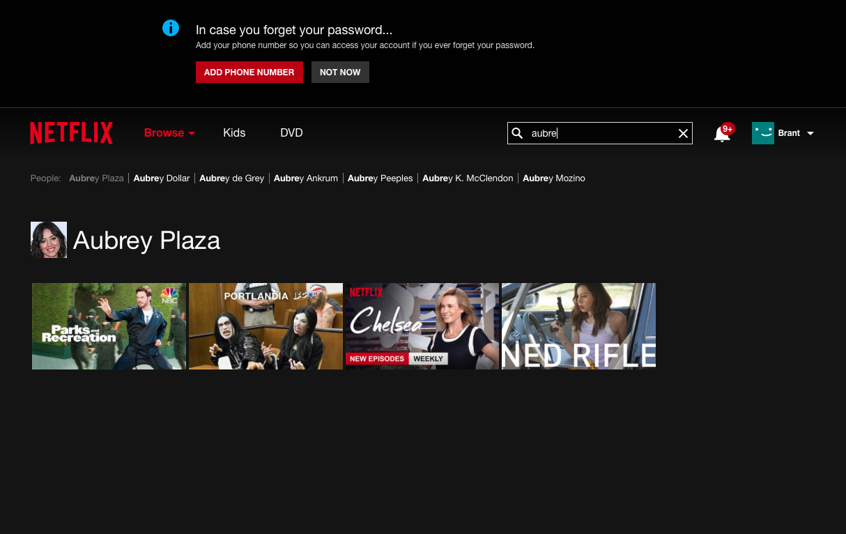 Check out Netflix's search site to see what Netflix has to offer.